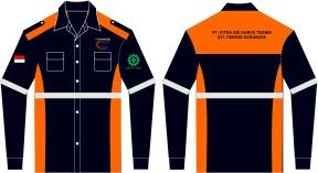 model baju seragam safety
