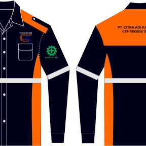 model baju seragam safety